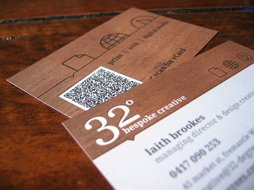 32degrees business card