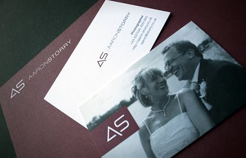 Aaron Storry Business Card