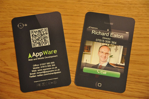 Business Card for App Ware