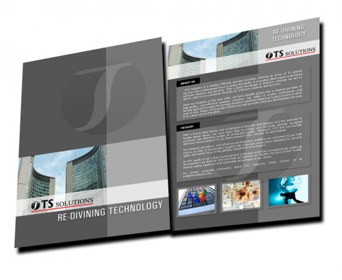 Company Brochure Design Sample