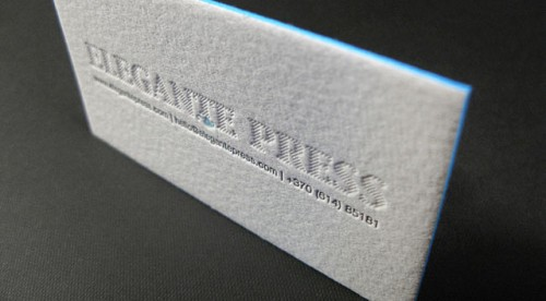 Elegante Press Letterpress Sample Pack