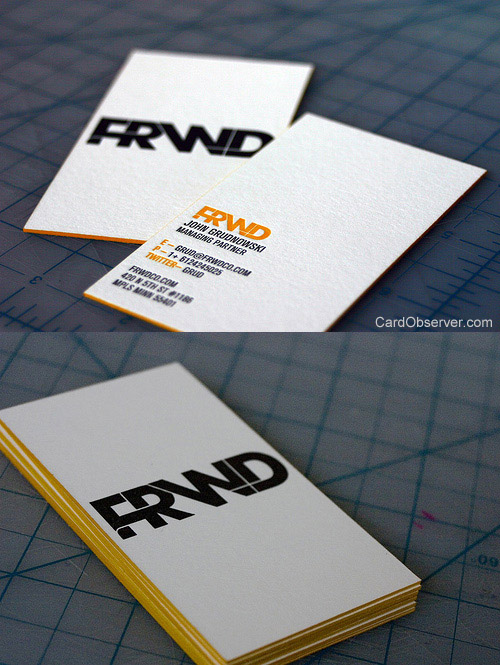 FRWD Business Cards