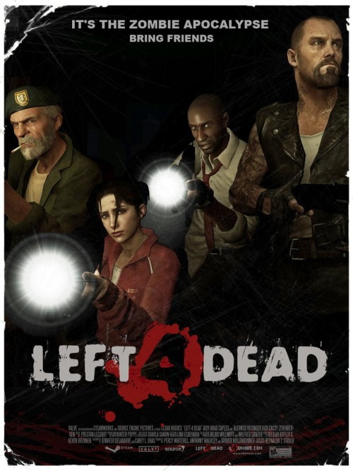 LEFT 4 DEAD movie poster L4D