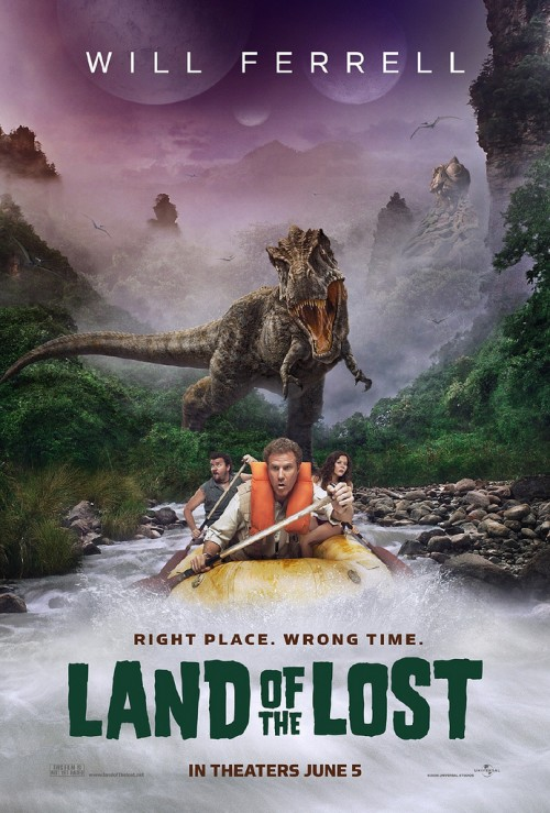 Land of the Lost movie poster