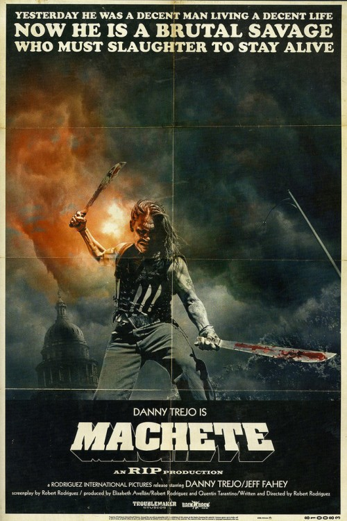 Machete movie poster
