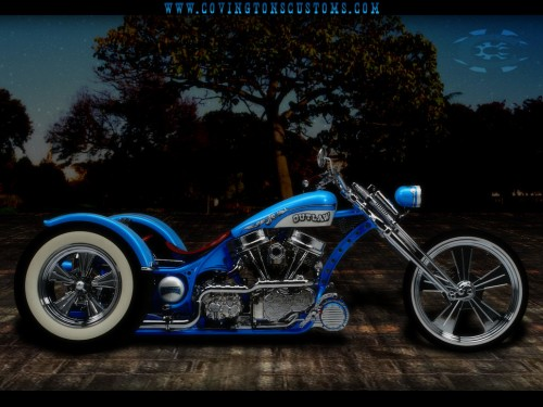 Outlaw Custom Trike Motorcycle