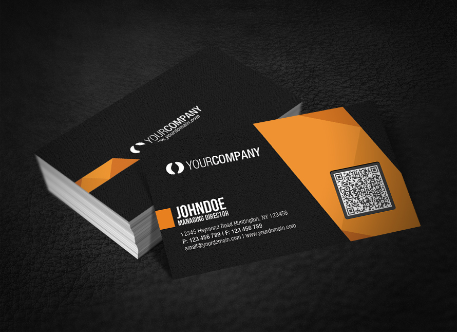Professional QR Code Business Card