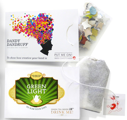 Teabags or Confetti – Just don't get them mixed up
