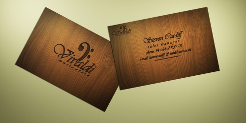 Vivaldi Business Card