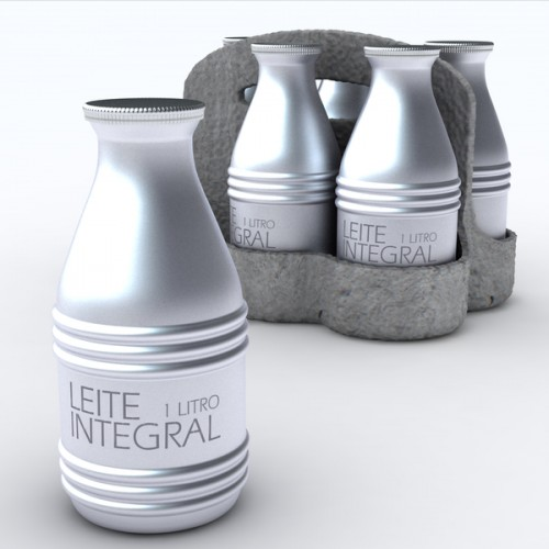 Aluminum One Way Ecological Milk Packaging