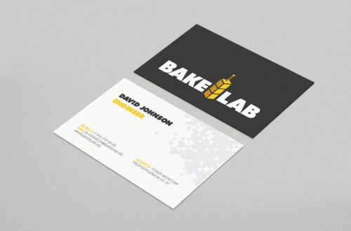 BakeLab business cards