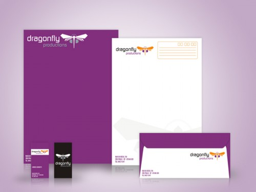 Dragon Fly – Letterhead