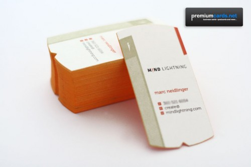 Marc Neidlinger 24pt Custom Business Cards