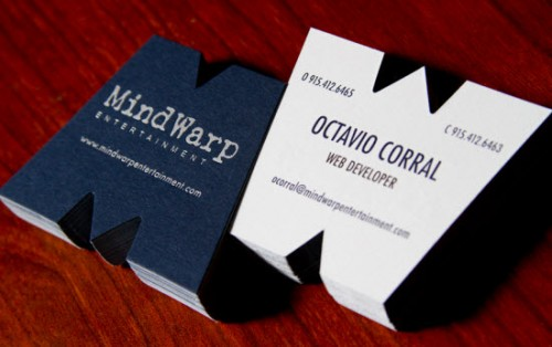 MindWarp Business Cards