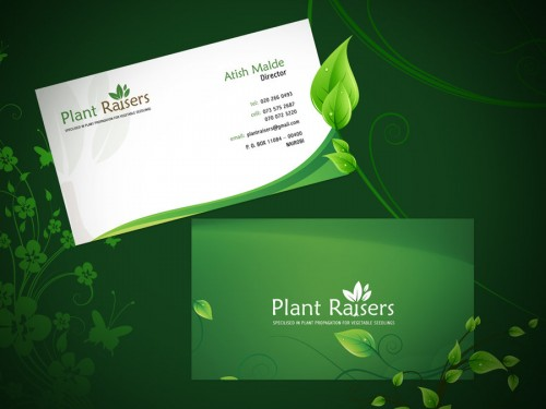 Plat Raiser Business Card
