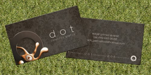 new business card by Van-der-Dot