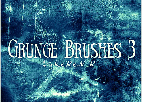 58 Grunge Photoshop Brushes
