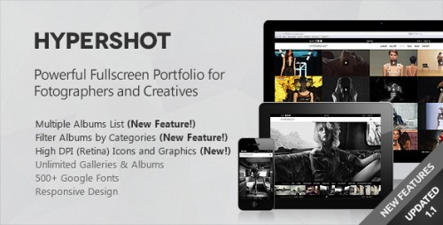 Hypershot - Photography Portfolio WP Theme