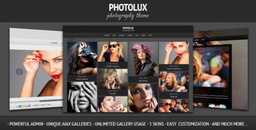 Photolux - Photography Portfolio Theme