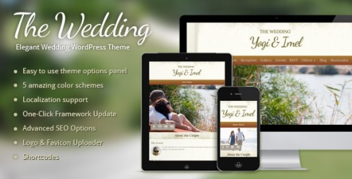 The Wedding - Wedding WordPress Theme