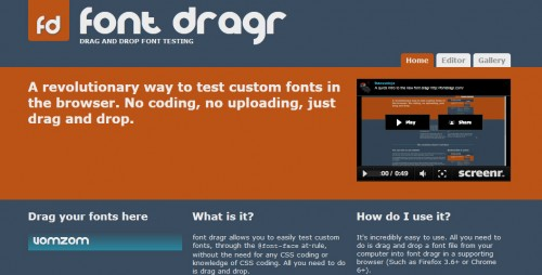 Online Font Testing Tool