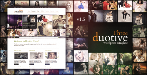 Duotive Three - Complete WordPress Template