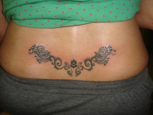 Lower Back Tattoo Ideas 2013