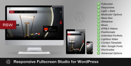 Responsive Fullscreen Gallery for WordPress
