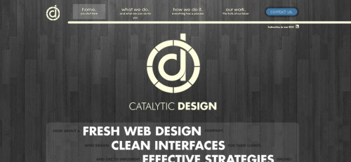 Catalytic Design