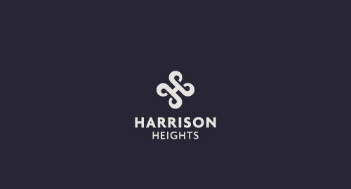 Harrison Heights Logo Design