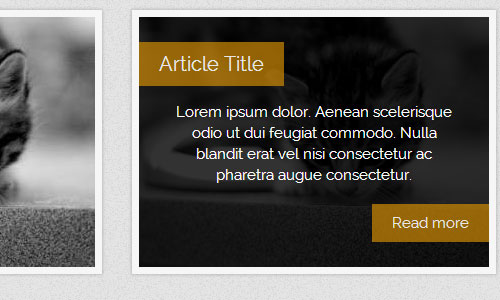 Create Modern CSS3 Hover Effects