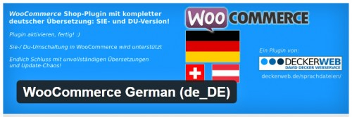 WooCommerce German (de_DE)
