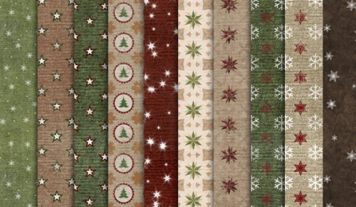 20 Free Seamless Christmas Patterns