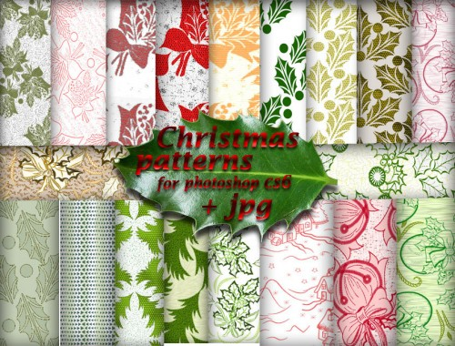 Beautiful Christmas Patterns for Download