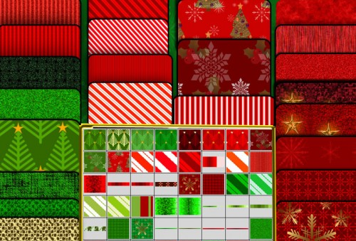 Free Photoshop Christmas Patterns