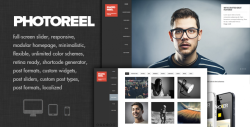 Photoreel - Responsive Photography Theme