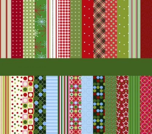 Vintage-Retro Xmas Patterns