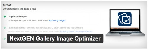 NextGEN Gallery Image Optimizer