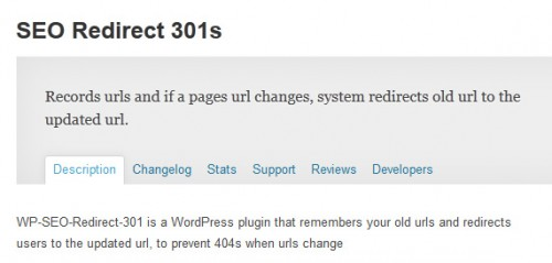 SEO Redirect 301s