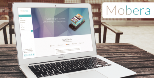 Mobera - Premium App Showcase WP Theme