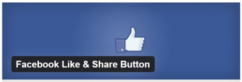 Facebook Like & Share Button