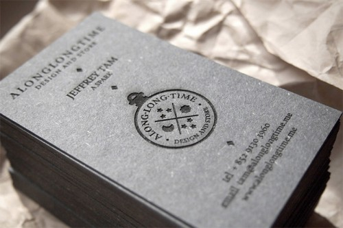 Unique Laser Etched Business Card