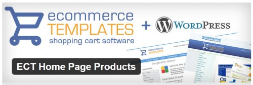 ECT Home Page Products