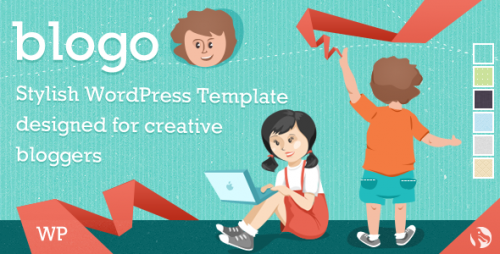 Blogo - Stylish WP Theme for Creative Bloggers