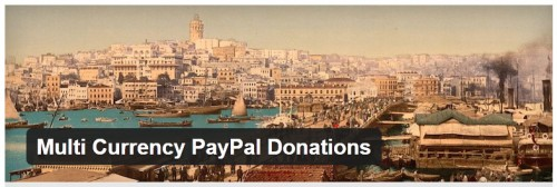 Multi Currency PayPal Donations