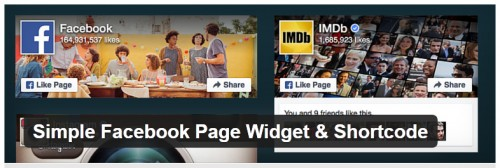 Simple Facebook Page Widget