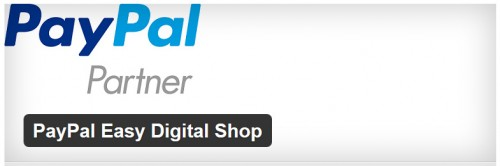 PayPal Easy Digital Shop