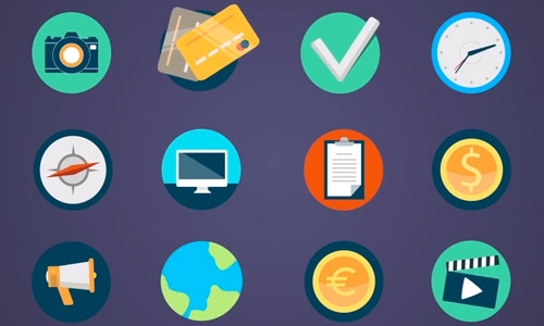 37 Colorful Animated Icons