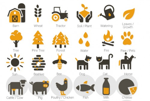 500 Premium Flat Animated Icons