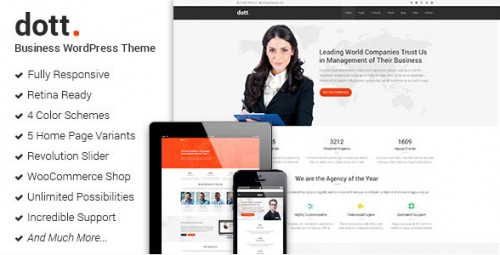 Dott - Business WordPress Theme